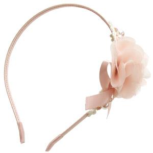 ショートヘアさんのパーティーヘアアレンジが簡単にできる!お花カチューシャ